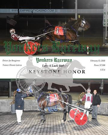20180213 Race 10- Keystone Honor