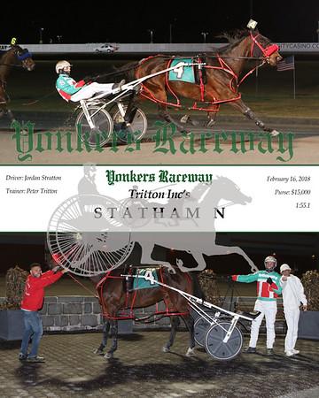 20180216 Race 5- Statham N