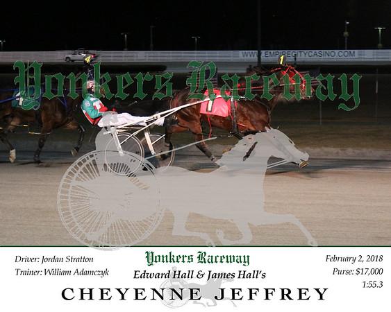 20180202 Race 10- Cheyenne Jeffrey