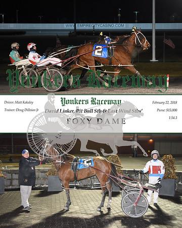 20180222 Race 4- Foxy Dame N