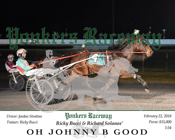 20180222 Race 6- Oh Johnny B Good N