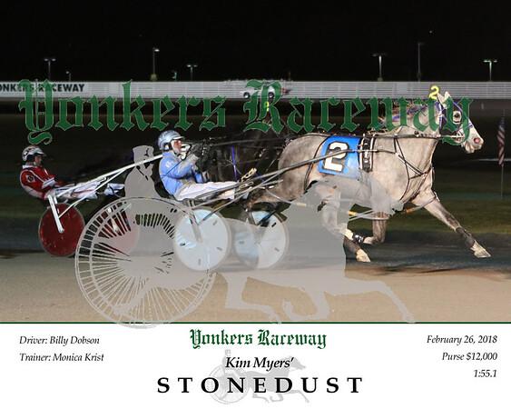 20180226 Race 6- Stonedust 2
