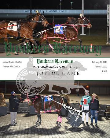 20180227 Race 7- Joyful Game