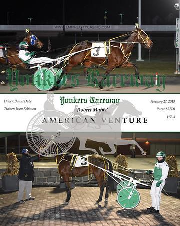 20180227 Race 3- American Venture