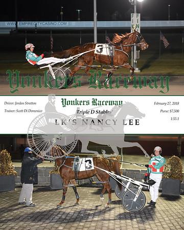 20180227 Race 2- Lk's Nancy Lee