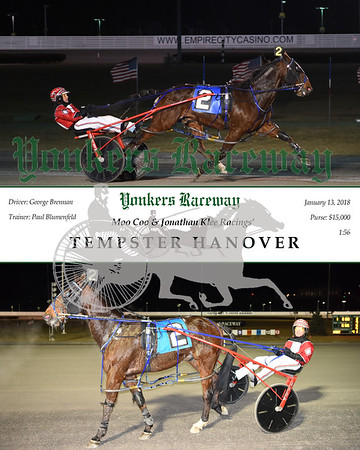 20180113 Race 1- Tempster Hanover