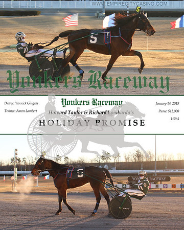 20180114 Race 11- Holiday Promise