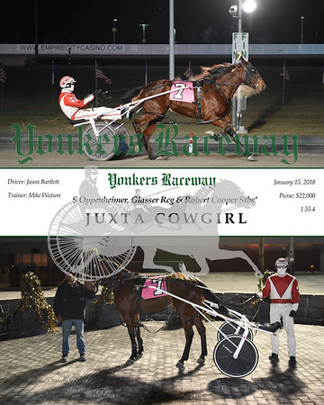 20180115 Race 8- Juxta Cowgirl