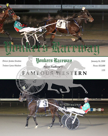 20180116 Race 10- Fameous Western