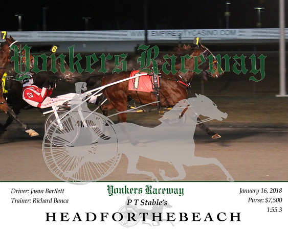 20180116 Race 1- Headforthebeach