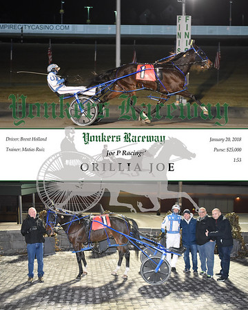 20180120 Race 11- Orillia Joe