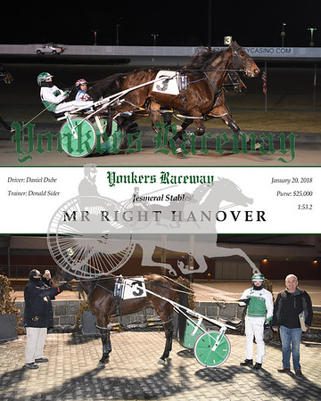 20180120 Race 12- Mr Right Hanover