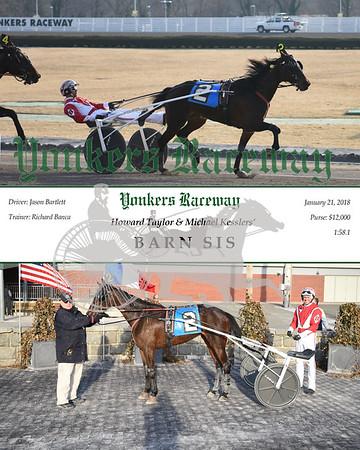 20180121 Race 9- Barn Sis