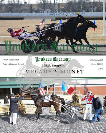 20180121 Race 1- Melady's Monet
