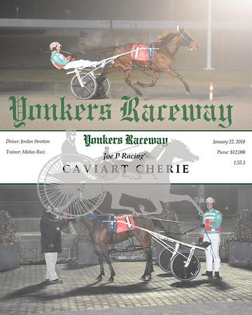 01222017 Race 5-Caviart Cherie