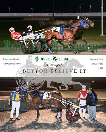 20180126 Race 1- Bettor Believe It