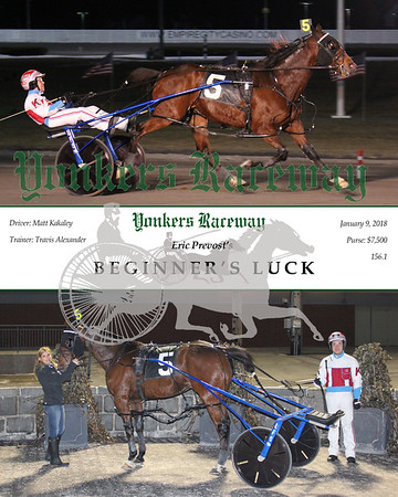 01092018 Race 1-Beginner's Luck