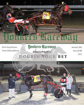 01092018 Race 5- Double Your Bet