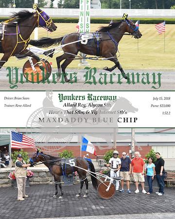 20180715 Race 6-Maxdaddy Blue Chip