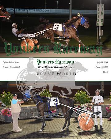 0723018 Race 11-Brave World