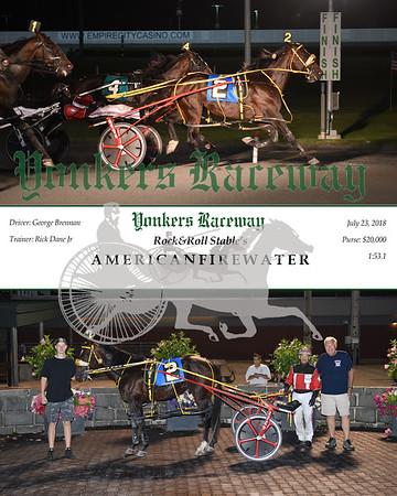0723018 Race 8-AmericanFirewater