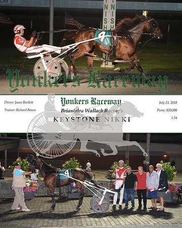 0723018 Race 7-Keystone Nikki