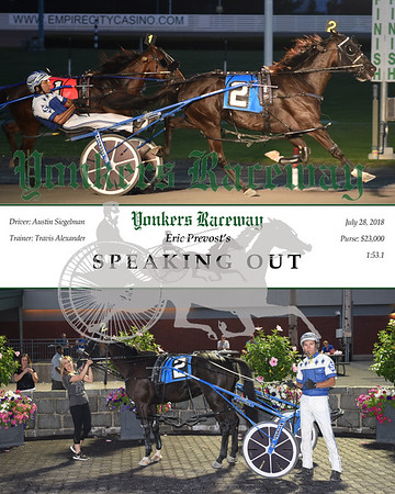 20180728 Race 5-Speaking Out