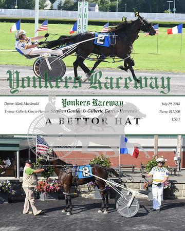 20180729 Race 12-A Bettor Hat