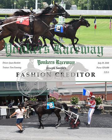 20180729 Race 2-Fashion Creditor