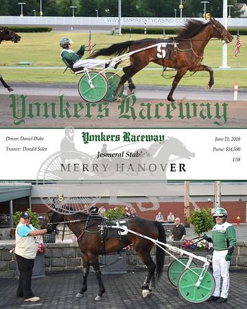 20180621 Race 3- Merry Hanover