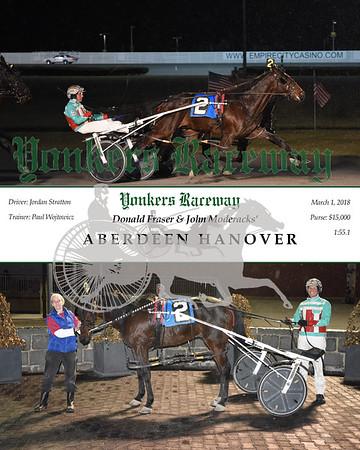 20180301 Race 6- Aberdeen Hanover