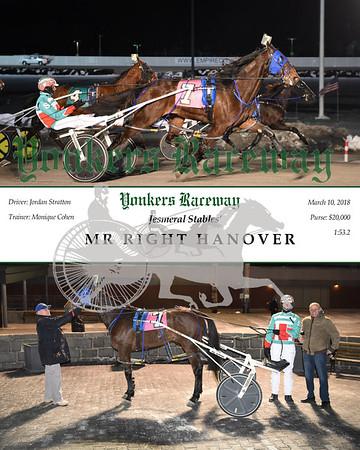 20180310 Race 1- Mr Right Hanover
