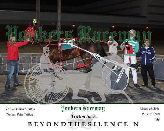 20180316 Race 3- Beyondthesilence N