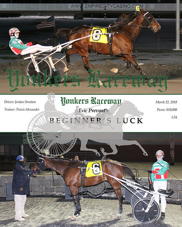 20180322 Race 3- Beginner's Luck
