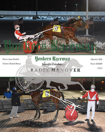 20180308 Race 8- Badix Hanover