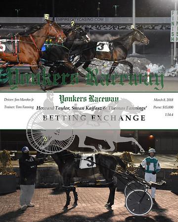 20180308 Race 12- Betting Exchange