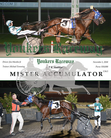 20181101 Race 1- Mister Accumulator