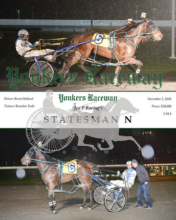 20181102 Race 8-Statesman N