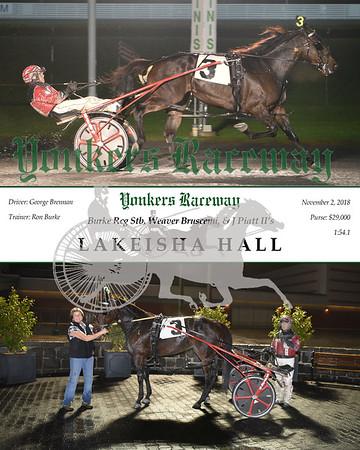 20181102 Race 9-Lakeisha Hall