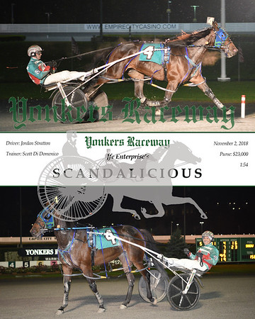 20181102 Race 5-Scandalicious