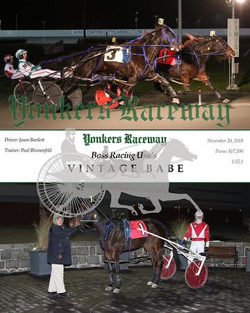 20181120 Race 6- Vintage Babe