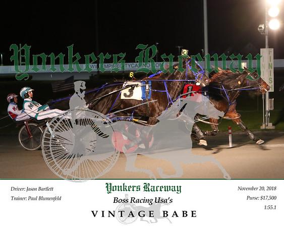 20181120 Race 6- Vintage Babe 2