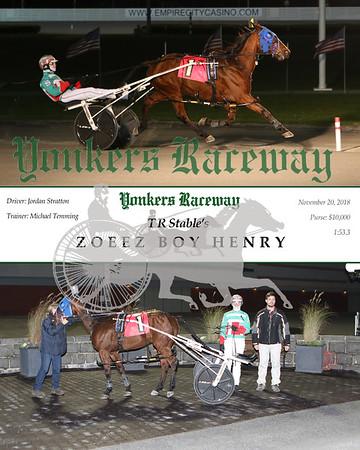 20181120 Race 1- Zoeez Boy Henry