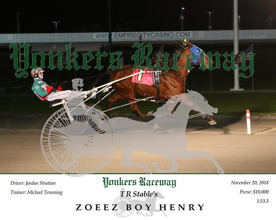 20181120 Race 1- Zoeez Boy Henry 2