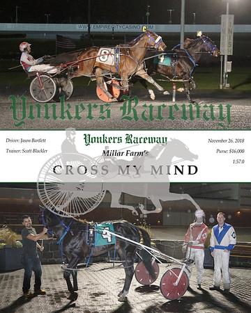 20181126 Race 5- Crossmymind
