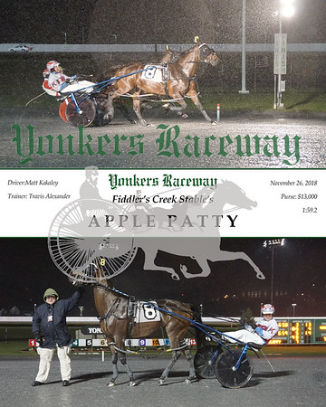 20181126 Race 1- Apple Patty