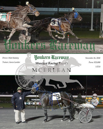 20181126 Race 12- Mcerlean