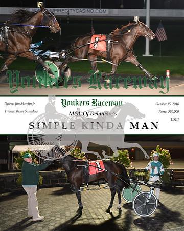 20181015 Race 8-Simple Kinda Man