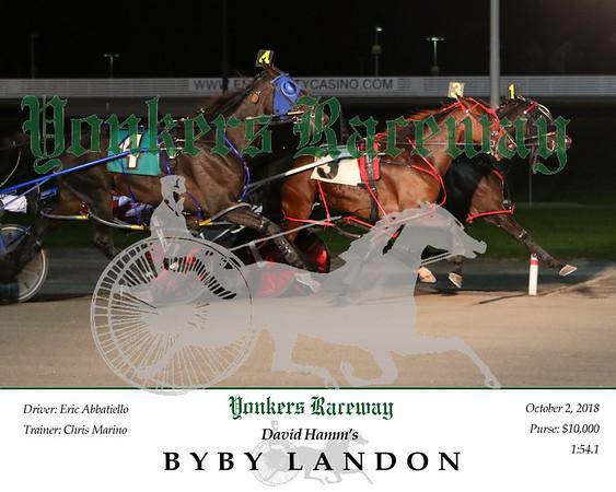 20181002 Race 3- Byby Landon 2