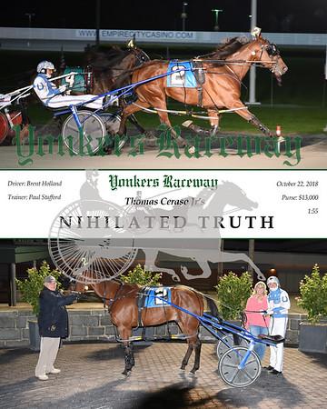20181022 Race 1-Nihilated Truth